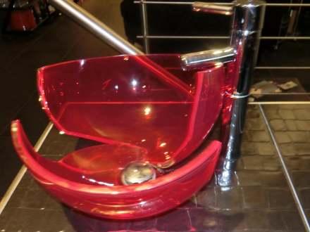 mein sch nes murano glas waschbecken erlegt. Black Bedroom Furniture Sets. Home Design Ideas