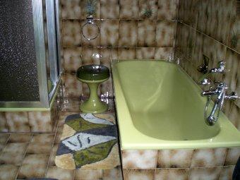 Das Badezimmer im Retrostyle