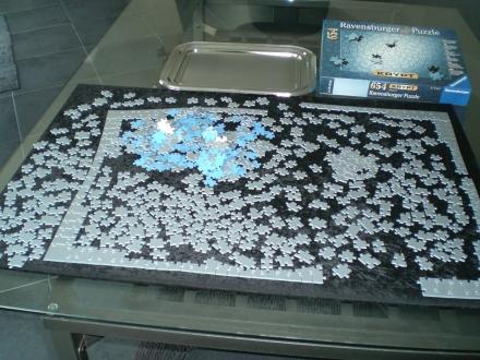 Krypt-Puzzle - ein echtes Geduldspiel
