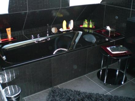 Meine geliebte schwarze Badewanne