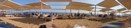 Der Strand vom Alba Royal
