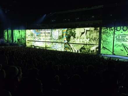 Die Berliner Mauer als Hintergrundbild