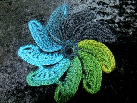Spiral Flower Crochet